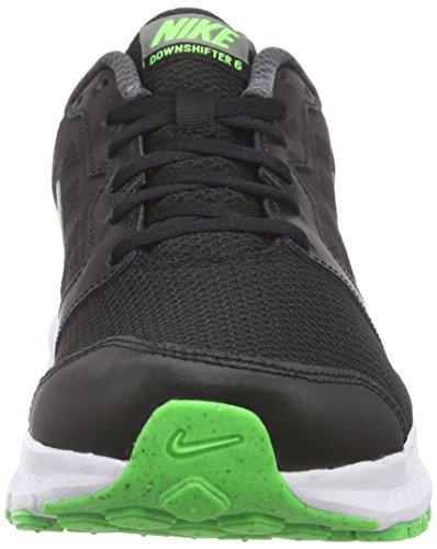 Nike Downshifter 6 - Zapatillas de running Hombre Negro / Verde / Gris / Blanco (Blk / Grn Strk-Mtlc Drk Gry-Whit)