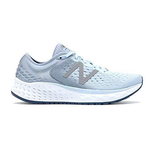 New Balance Women's 1080v9 Fresh Foam Running Shoe, air/Vintage Indigo, 8 M US