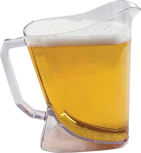 San Jamar PPP60 Perfect Pour Shatter-Resistant Beer Pitcher, 60 oz. ()