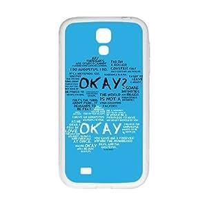 okay? okay. Phone Case for Samsung Galaxy S4 Case