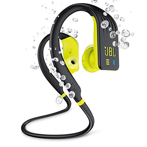 JBL Endurance Dive Waterproof Wireless In-Ear Sports Headphones with Built-in Mp3 Player (Yellow)
