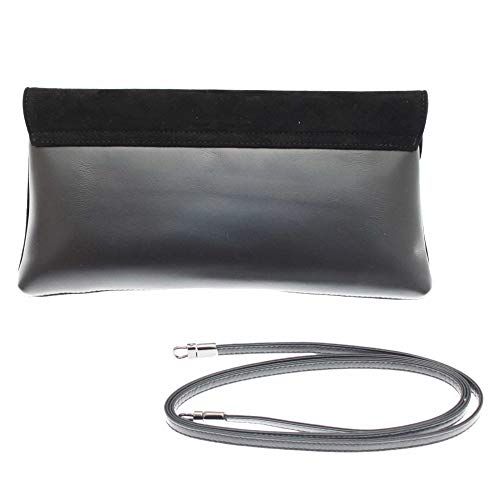 Over Peter a Strap Black N Fold Kaiser Winema Suede Clutch shld qqwfAH