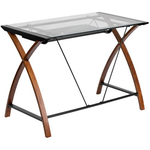 Buy glass computer desk