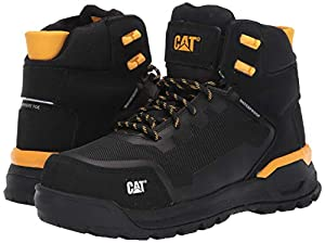 Caterpillar Women's Propulsion Waterproof CT Construction Boot Black 6 M US (Color: Black, Tamaño: 6)