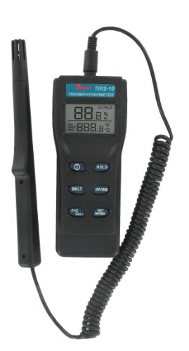 Dwyer Digital Thermo-Hygrometer, THI2-10, w/ Remote Probe by Dwyer (Image #1)