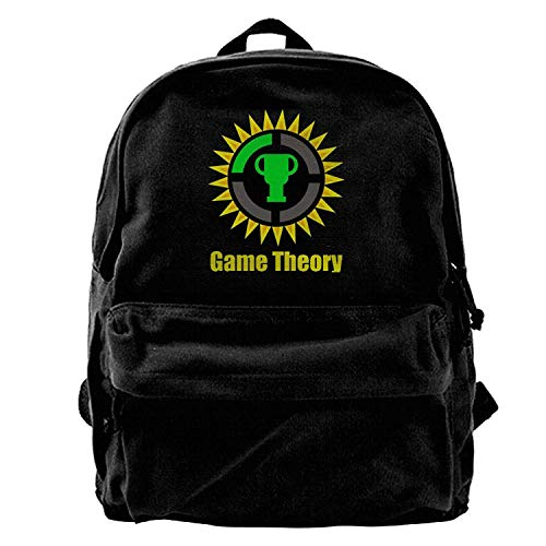 The Game Theory Canvas Backpack Travel Bag B1 by Uiowsbe