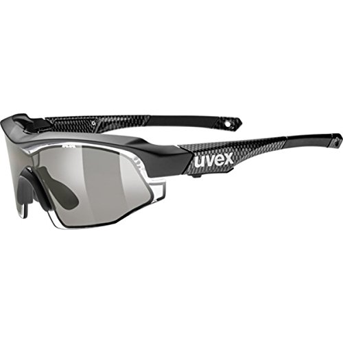 Uvex Variotronic Shield Sunglasses Black, One Size - - Uvex Sunglasses