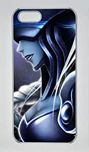 League of Legends Lissandra For Iphone 5/5S Phone Case Cover PC Transparent Hard Shell Case