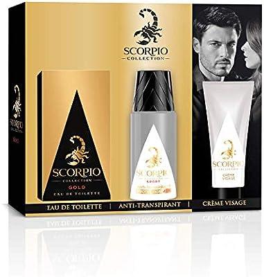 Scorpio Collection Gold para hombre - Estuche con frasco de ...
