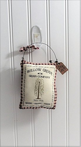 Primitive Country Hanging Feed Sack Ornament