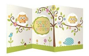 Creative Converting Baby Shower Happi Tree Accordion Centerpiece