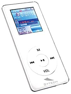 Sytech SY-736 - Reproductor 512 MB Blanco