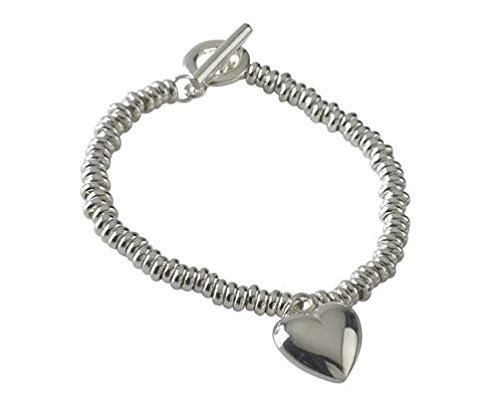 En argent sterling Bracelet Candy 19,1cm à bascule/19cm