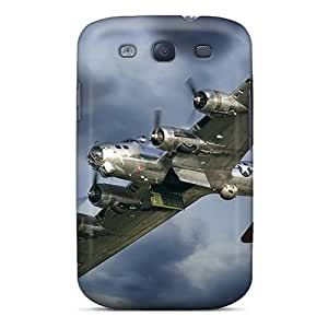 New Arrival Cover Case With Nice Design For Galaxy S3- B-17 Flying Fortress With Open Bomb Bay Doors
