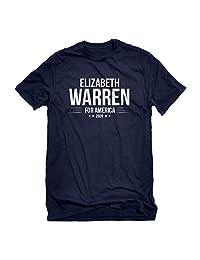 Indica Plateau Mens Elizabeth Warren for President 2020 T-Shirt