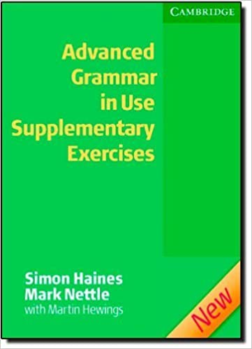 Advanced Grammar in Use Supplementary Exercises without Answers by ...