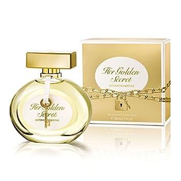 f684fee68 Amazon.com  Antonio Banderas Her Golden Secret EDT Spray for Women ...