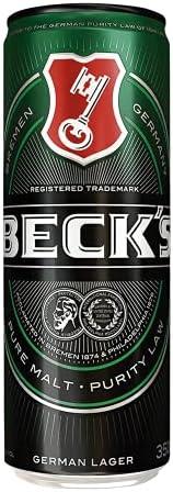 Cerveja Beck's, Lata Sleek, 350ml