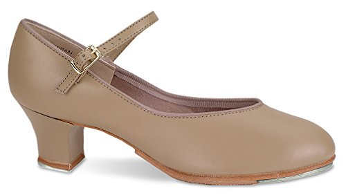 Danshuz Womens Tap Queen With Taps Rubbers Mary Janes Tan GRbVeNJQX7