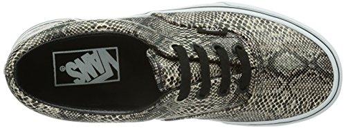 Vans U ERA 59 (SUEDE/DENIM) B - Zapatillas de lona para mujer Nero (Schwarz ((Snake) black/k / DUI))
