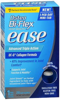 Osteo Bi-Flex Joint Health Ease Advanced Triple Action Mini Tabs - 28 ct, Pack of 5