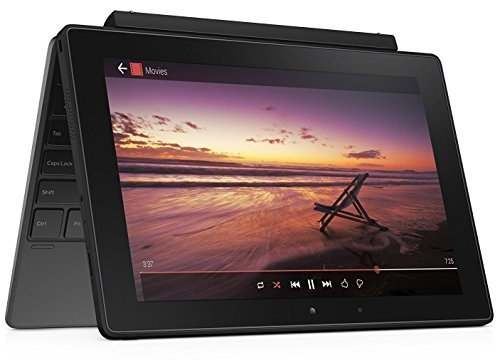 2018 Dell Venue 10 5050 10.1 Inch Tablet Computer with Keyboard, Intel Quad Core Atom-Z3735F 1.33Ghz CPU, 2GB RAM, 16GB SSD, Android OS (Certified Refurbishd)