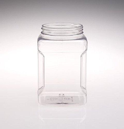 Fixture Displays 48oz PVC Hand Grip Shapes Jar - 30pk 106084! by FixtureDisplays (Image #1)