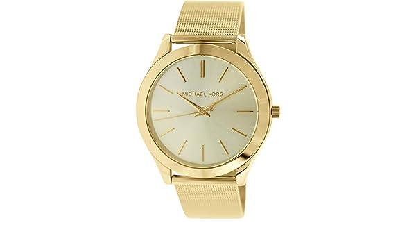 Michael Kors MK3282 - Reloj para Mujeres, Correa de Acero Inoxidable Color Dorado: Michael Kors: Amazon.es: Relojes