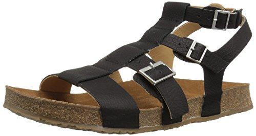 Haflinger Women's MANA Sandal Ebony 40 M EU (9 US) ()