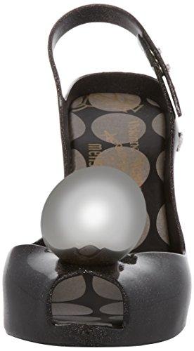 Glitter Black Black 18 Vw Dragon Back amp; Lady Heels Westwood Melissa Vivienne Women's Globe Sling 74w1gO4q