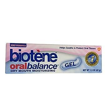 Biotene Oral Balance Dry Mouth Gel, Moisturizing, 1.5 oz (42 g) by Biotene