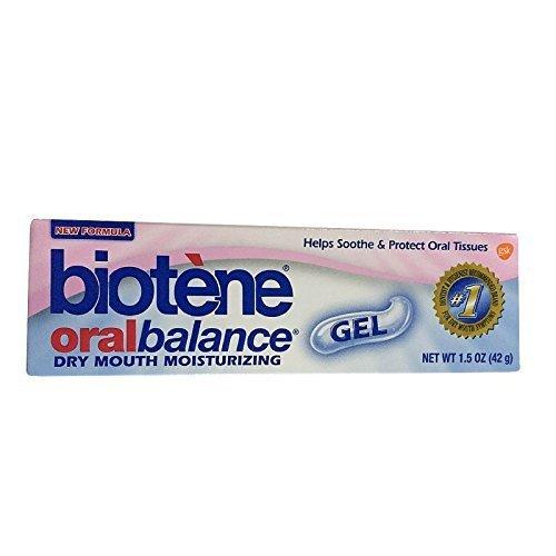 Biotene Oral Balance Dry Mouth Gel, Moisturizing, 1.5 oz (42 g) by (Dry Mouth Moisturizing Gel)