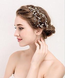 SFGVDSFSDF DHC* Headpieces des Femmes/Accessoires de Cheveux de Mariage/mariée/Headwear/New/Handmade/Simple/Accessoires de vêtements/Clip latéral