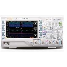 """GOWE 4 Channels 50MHz Max. 1GSa/s Digital Storage Oscilloscope Memory Depth 12Mpts 30,000 wfm/s 7"""" TFT LCD 800x480"""