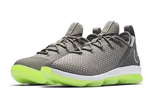 NIKE Men's Lebron XIV Low Basketball Shoes Dust/Reflect Silver (10.5)