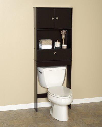 Zenith Products 9401CH Drop Door Space Saver with 2 Door Cabinet, Espresso