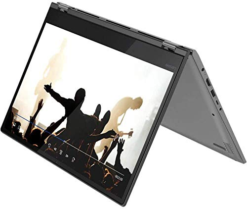 "Lenovo Flex 2-in-1 Laptop, 14"" Full HD IPS Touchscreen, AMD Ryzen 5 Processor, 16GB DDR4 RAM, 512GB PCIe NVMe M.2 SSD, HDMI, WiFi, Bluetooth, Windows 10 Home, Black (16GB RAM 