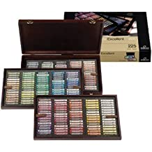 Rembrandt Soft Pastels : Deluxe Wooden Box Set : 225 Complete Set 1 extra week for delivery by Tar Lenth Japan