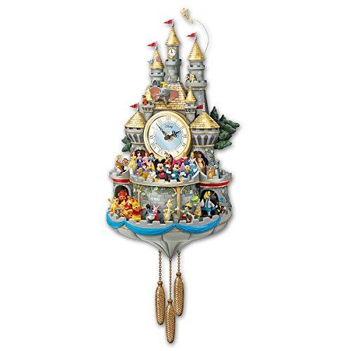 Bradford Exchange Disney Cuckoo Clock Has 43 Characters