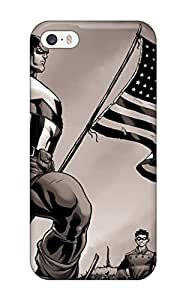 Best New Premium Captain America Skin Case Cover Excellent Fitted For Iphone 5/5s