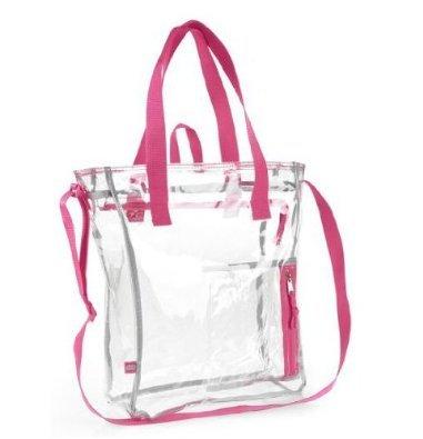 eastsport-clear-tote-bag-w-zipper-closure-pink-trim
