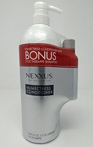 Nexuss Humectress Ultimate Moisturizing Conditioner Caviar Complex, 44 Oz (Bonus (3 oz Therappe - Moisturizing Conditioner Humectress Hair