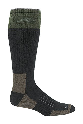 Darn Tough Vermont Men's Hunter Over-The-Calf Extra Cushion Socks, Charcoal, XL -