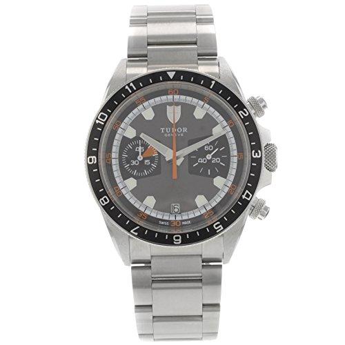 Tudor 70330N - Reloj para hombres, correa de acero inoxidable color acero: Amazon.es: Relojes