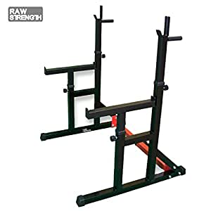 Raw Strength RS-3 - Soporte para sentadillas Multi Sqaut Rack ...