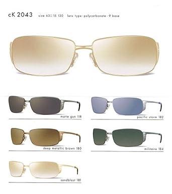 Amazon.com: Calvin Klein CK anteojos de sol 2043 (color-code ...