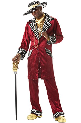 (California Costumes Men's Sweet Daddy Beaujolais Costume, Large)