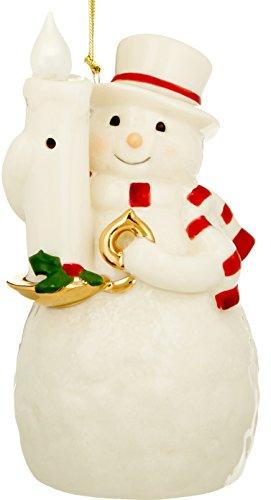 Out Snowman (Lenox Blow Out The Lights Sensor Snowman Hanging Ornament)