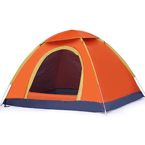 Tents Fully Automatic Outdoor Tent, Family Sunscreen Double Camping Party Waterproof Tent with Rain Cover Family Camping Tents
