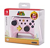 Wired Controller for Nintendo Switch - Chrome Princess Peach (Super Mario)